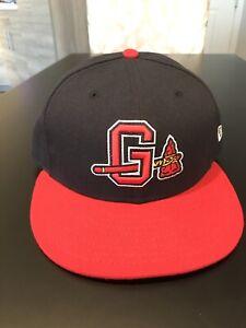 Gwinnett Braves New Era 5950 Hat Cap Size 7 1/4 NWT Made In USA