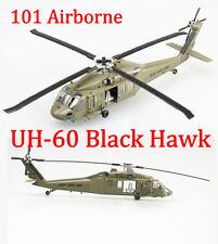 Easy Model 1/72 US UH-60 Black Hawk Midnight Bule 101 Airborne #37016