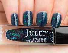 NEW! Julep polish CORA Nail Vernis ~ Midnight blue jelly glitter top coat