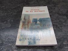 gerard le gouic journal de ma boutique editions telen arvor 1987 dedicace