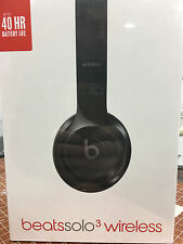 Beats by Dr. Dre Solo3 Wireless Headband Headphones - Gloss Black *NEW SEALED*