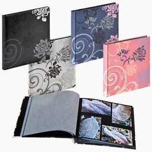 Grindy 30x30cm drymount photo album, 60 acid-free black pages with interleaving