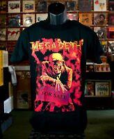 Megadeth Peace Sells T Shirt Bay Island Black Mega Death Heavy Metal