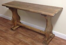 LOVELY BENCH STYLE CONSOLE TABLE MADE FROM RECLAIMED ELM