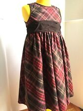 Size 5 5T Girls BABY GAP Plaid Fall Holiday Special Occasion Dress