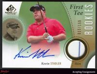 2014 SP Game Used #54 Kevin Stadler Shirt AUTO ROOKIE RC 005/199 AUTOGRAPH