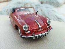 1:43 Diecast Porsche 356 Convertible Classic Sports Car