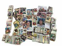 Vintage Baseball & Football Card Lot + Mini & Large Cards - Tokens - Huge