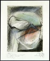 Kunst in der DDR, 1989. Mischtechnik Gregor-Torsten KOZIK (*1948 D) handsigniert
