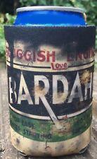 Vintage Distressed Oil Can BARDAHL can cooler koozie festival Garage gift