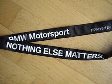 BMW Motorsport Schlüsselband Schlüsselanhänger NEU Nothing else matters Lanyard