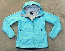 The North Face HyVent 2.5L Waterproof Rain Jacket Women's Sz Small Mint Green