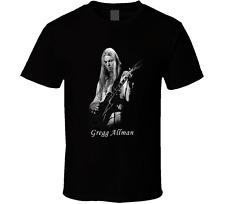 GREGG ALLMAN, ALLMAN BROTHERS BAND BLACK T-Shirt S M L XL