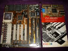 ASUS PVI-486AP4 mainboard with  AMD DX4-100 CPU, 32Mb RAM and PCI Ati videocard