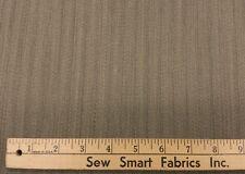 """100% Wool: Tan Stripe, 60""""width, 3 yd. piece"""