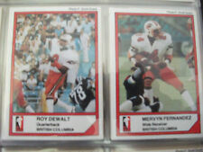 1984 JOGO CFL COMPLETE SET series 1-1200 sets and series 2-1060 sets made)