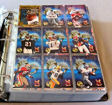 1994-95 Topps Stadium Club Football Members Only Full Set +Inserts Sets + Binder