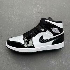 Nike Air Jordan 1 Mid Carbon Fiber All Star 2021 ASW Black DD1649-001 Sz 10 11