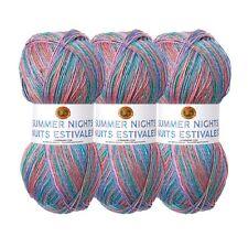 Lion Brand Yarn 512-310 Summer Nights Bonus Bundle, Wildflowers (Pack of 3)