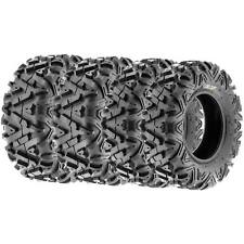 SunF 25x8-12 & 25x10-12 All Terrain ATV Tires A/T  6 PR A033 POWER I [Set of 4]