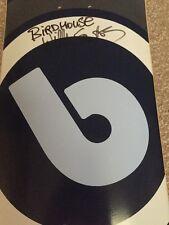 Birdhouse Signed Willy Santos Vintage Skateboard Deck Tony Hawk Reynolds Rare