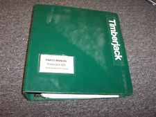 Timberjack 933C Diesel Forwarder Original Factory Parts Catalog Manual Guide