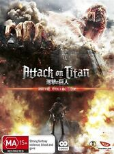 Attack on Titan Movie Collection NEW R4 DVD