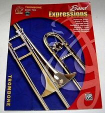 Trombone, Book & CD    BAND EXPRESSIONS, Book Two     Student Edition