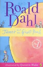 James and the Giant Peach by Dahl, Roald Paperback Book The Cheap Fast Free Post