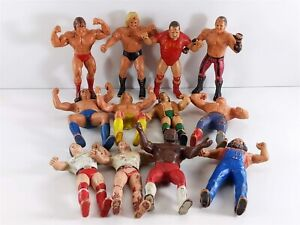 "WWF LJN Titan Sports Lot of 13 Wrestling 8"" Action Figures 1986"