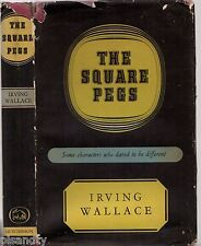 Vintage 1958 THE SQUARE PEGS Characters Who Dared To Be Different IRVING WALLACE