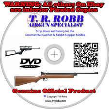 CROSMAN Rabbit Stopper, Ratcatcher & 2240 Variants Tune & Dismantle DVD
