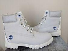 Timberland Women's White Ice 6-Inch Premium Waterproof Boots Limited Edition NIB