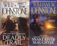 Complete Set Series Lot of 10 Matt Jensen Last Mountain Man William Johnstone JA