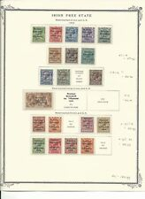 Ireland Collection 1922-1940 on 7 Scott Vintage Pages, Nice Condition