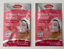 Schaebens Maske Strawberry Face Peeling Mask 2x (2 x 6 ml) / 2 Pack