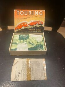 Vintage Touring Game by Parker Brothers. The famous Automobile card game.