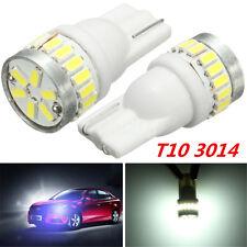 2X  AUTO T10 194 168 W5W 24 LED 3014 SMD LAMPADE LAMPADINE TARGA FARI POSIZIONE