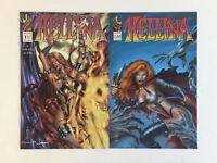 HELLINA HELLBORN comics # 1 2 ~ FULL SET, BOTH ISSUES