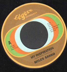 "Fantastic Soul Dancer - Myles Sanko - My Inspiration - 7"" Single First Press"