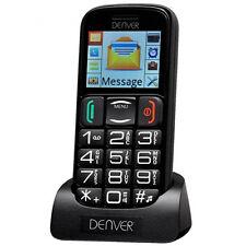 Denver GSP-110 Big Button Seniors OAP Mobile Phone Unlocked Charging Dock
