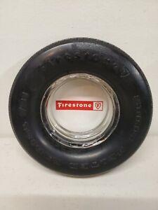 Vintage Firestone Tire Ashtray - Transteel Radial