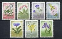 31895) HUNGARY 1966 MNH** Flowers Carpathia 7v.