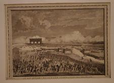 14 JUILLET 1789 FEDERATION DES FRANCAIS REVOLUTION GRAVURE