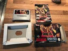 shaq-fu jeu pour console super nintendo boite et notice PAL FAH