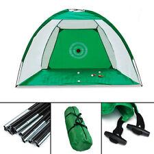 2M Foldable Golf Driving Cage Practice Hitting Net Outdoor Garden Indoor Trainer