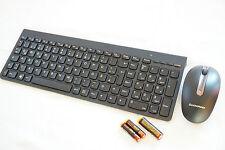 LENOVO Tastatur Maus Kombination SK8861+SM8861 Maus edel schwarz