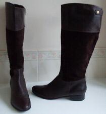 LK BENNETT Suede Leather Knee High Boots Size UK 6 - 7 EU 39 - 40