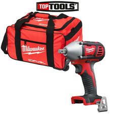 """Milwaukee M18BIW12 M18 18V 1/2"""" Compact Impact Wrench With 19 inch Wheel Bag"""