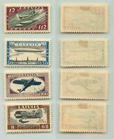 Latvia 1933 SC CB21-CB24 mint . f4554